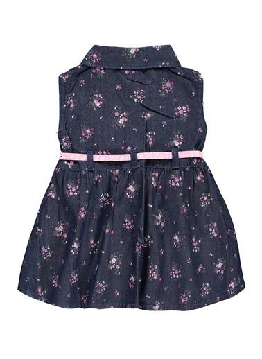Civil Baby Civil Baby Kiz Bebek Kot Elbise 6-18 Ay Mor Civil Baby Kiz Bebek Kot Elbise 6-18 Ay Mor Mor